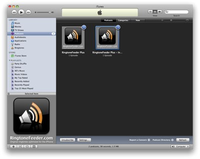 Grid view in iTunes 8