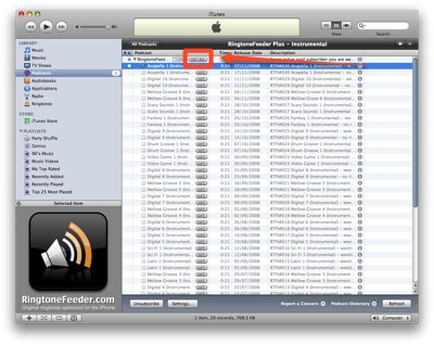 Get all the iPhone ringtones available for download